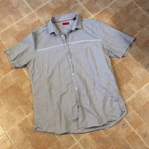 Alfani casual Button down shirt size men's x-large